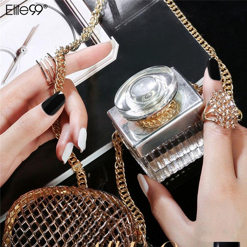 Elite99 10 ml UV Gel Nagellack LED UV Lampe Gel Lack Gel Polnischen Schwarz Weiß Semi Permanent Gel Lack nagel Primer Basis Top