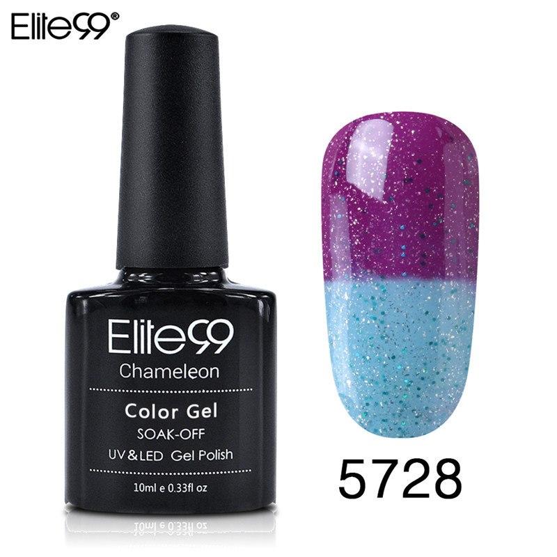 Elite99 10 ml Tränken Weg Von Temperatur Ändern Farbe Gel Nagel Lacke Langlebige Thermo UV Gel Hybrid Nagel Gel Lack nail art
