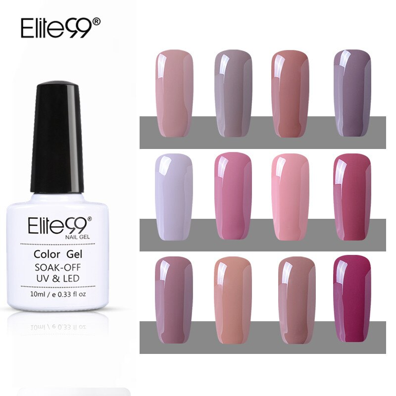 Elite99 10 ml Nagellack Wunderschöne Farbe Nagel Gel Polnisch Vernis Semi Permanent Top Mantel Basis Mantel Gel Nagel Lacke gel Lack