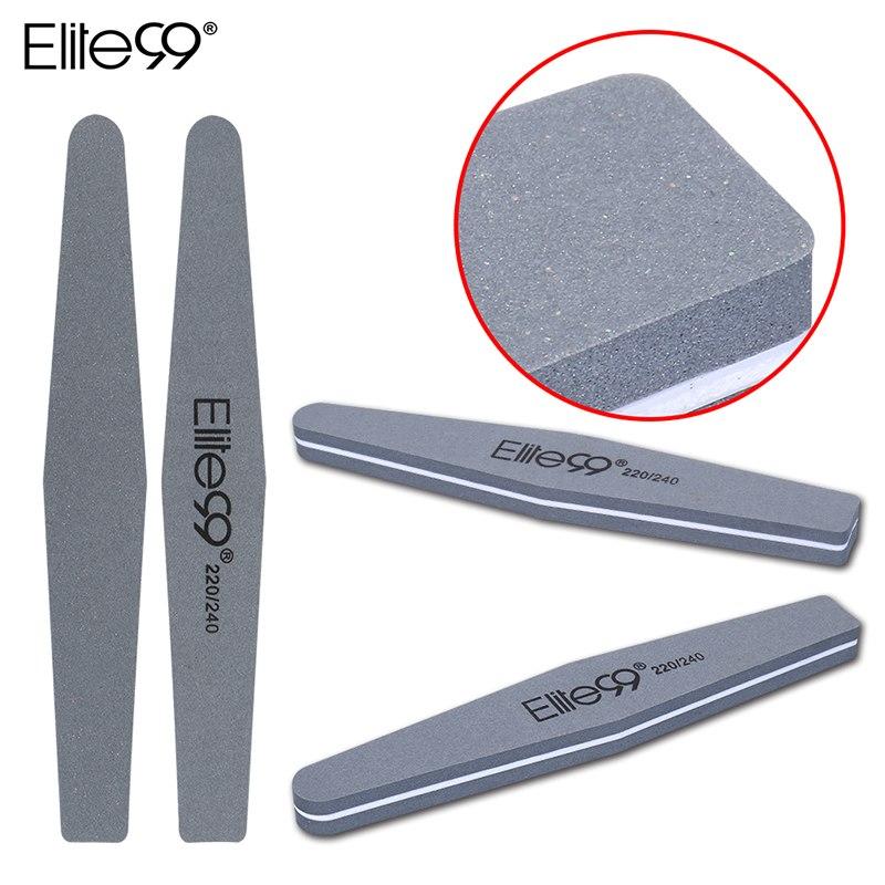 Elite99 Nail art Schleif Salon Buffer Nagel Dateien Schleifpapier Maniküre UV Gel Polierer Maniküre Pediküre Nagel Werkzeuge 220/240