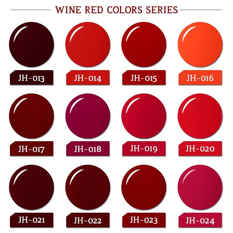 Elite99 Gel Nagellack 10 ml Wunderschöne Wein Rot Farbe Nagel Gel Polnisch Vernis Semi Permanent Gel Lak Lacke Gel polnisch