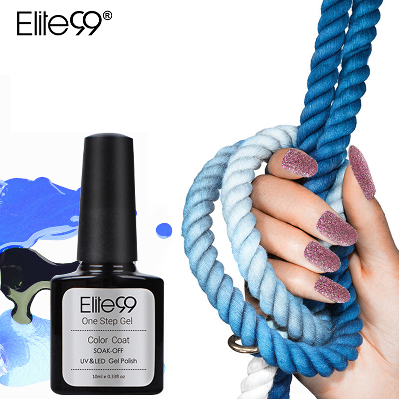 Elite99 3 in 1 UV Gel Tränken Weg Vom UV-One Step Nagel Gel Polish 10 ml Keine Notwendigkeit Top Basis mantel Für Nägel Kunst vernis semi permanent Gel