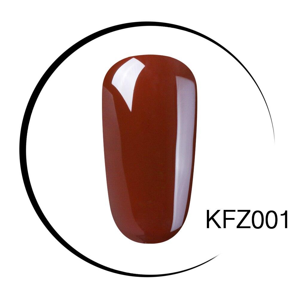 Elite99 10 ml Nail art Gel Reine Farbe Kaffee Braun 1-12 UV LED Nagel Gel Tränken weg lack lack langlebige Oberfläche