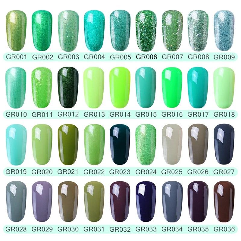 Elite99 Nagel Gel Polnisch Hohe Qualität Nail art Salon Tipps 10 ml Grün Farbe Tränken weg von Organische UV LED Nagel gel Lack