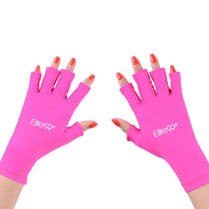 Elite99 Anti UV Handschuh für UV-Licht Strahlenschutz 1 Para Hand handschuh Schutz Nagel-werkzeug Für Led-lampe Nageltrockner Strahlung